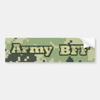 Army BFF Bumper Sticker
