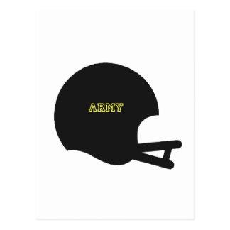 Army Black Knights Vintage Football Helmet Logo Postcards
