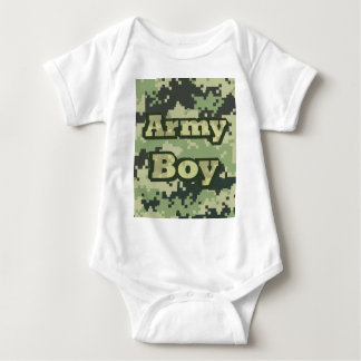 Army Boy Baby Bodysuit