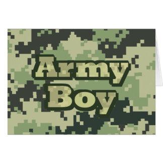 Army Boy Greeting Card