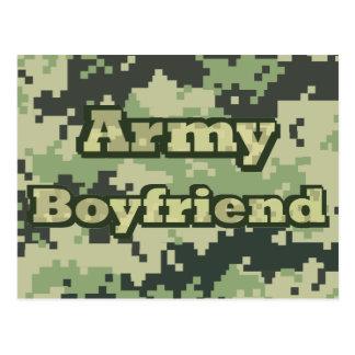 Army Boyfriend Postcard