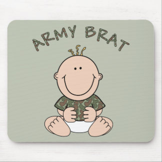 Army Brat (Boy) Mouse Pad