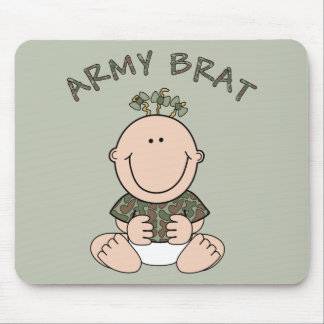 Army Brat (Girl) Mouse Pad