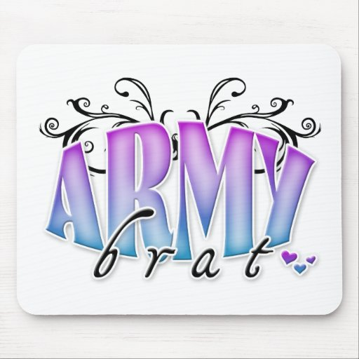 Army Brat Mouse Pads