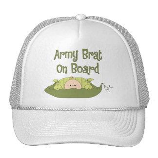 Army Brat On Board (Caucasian) Hats