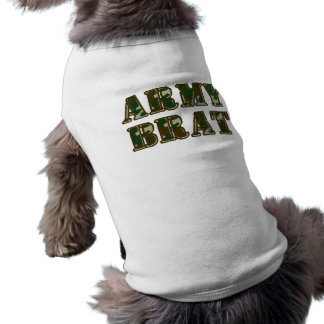 Army Brat Sleeveless Dog Shirt