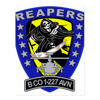 ARMY Bravo Company 1st Battalion 227th Aviation Re Post Cards