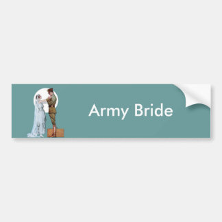 Army Bride Bumper Sticker
