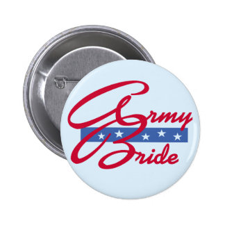 Army Bride T-shirts and Gifts Button
