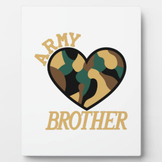 Army Brother Display Plaques