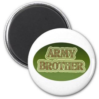 Army Brother Fridge Magnet