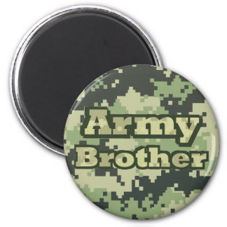 Army Brother Refrigerator Magnet