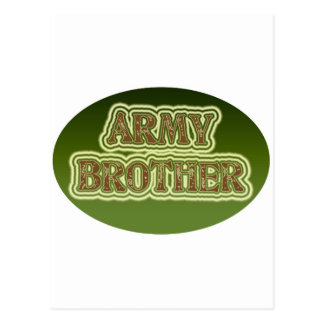 Army Brother Postcard