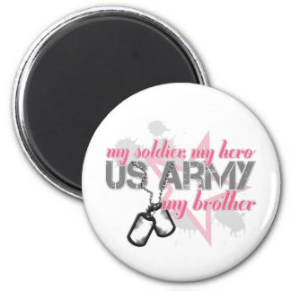 Army Brother Star Magnets