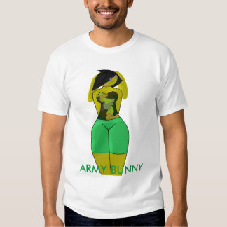 Army bunny Jessy Shirts