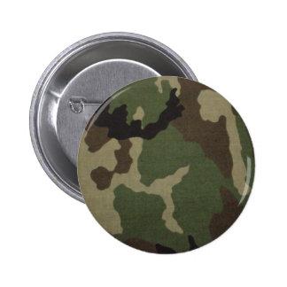 Army Camo 6 Cm Round Badge