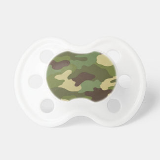 Army Camo Baby Pacifier