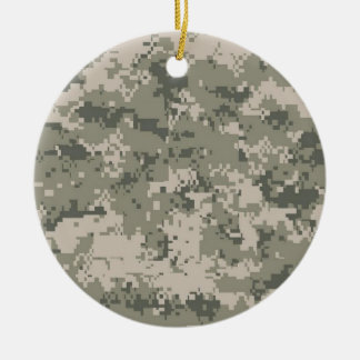 Army Camo Christmas Ornament