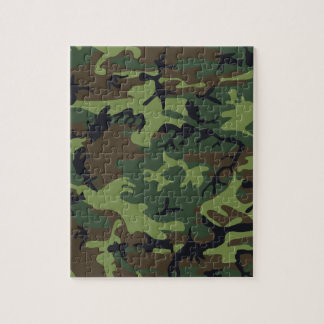 Army Camo Jigsaw Puzzle