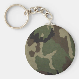 Army Camo Key Ring