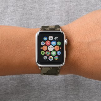 Army Camo Military Apple Watches -Limited edition Apple Watch Band