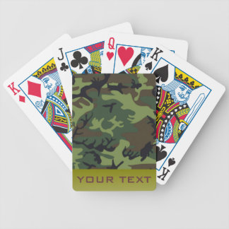 Army Camo Poker Deck