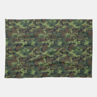 Army Camo Tea Towel
