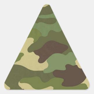 Army Camo Triangle Sticker
