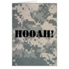 Army Camouflage ACU Pattern Card