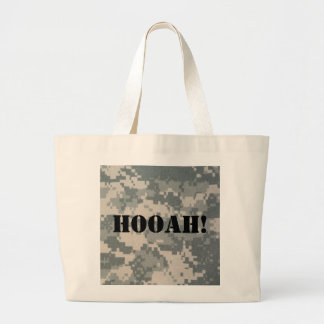 Army Camouflage ACU Pattern Jumbo Tote Bag