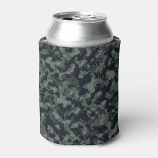 Army Camouflage Camo Design Can Cooler