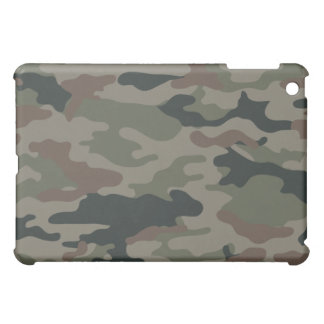Army Camouflage in Green and Brown Military Cover For The iPad Mini