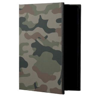 Army Camouflage in Green and Brown Military iPad Air Cases