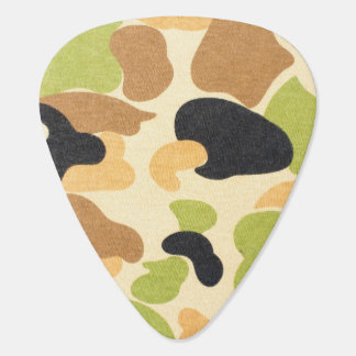 Army Camouflage Pattern Guitar Pick