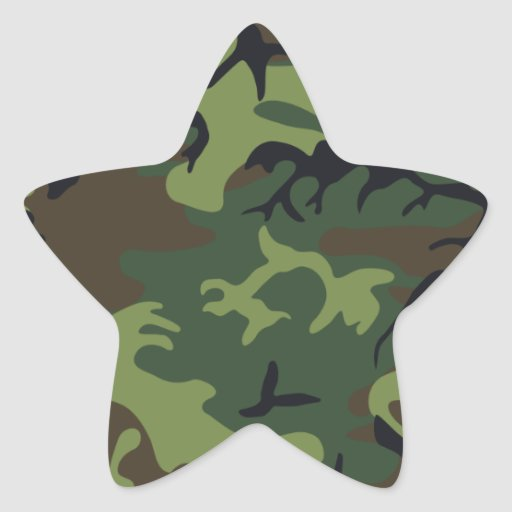 Army camouflage stickers