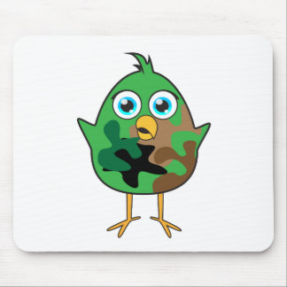 Army Chick Mouse Mat