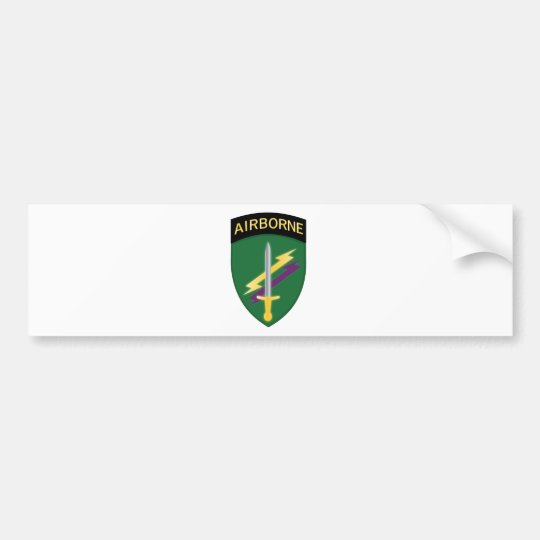 Army Civil Affairs and Psychological Operations Co Bumper Sticker