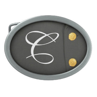 ARMY Class A Uniform Dress Monogram Belt Buckle