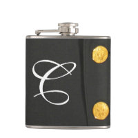 ARMY Class A Uniform Dress Monogram Whiskey Flask