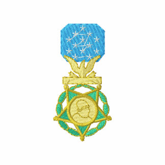 Army Congressional Medal Of Honor Embroidered Jacket