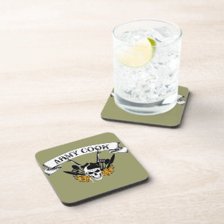 Army Cook Coasters