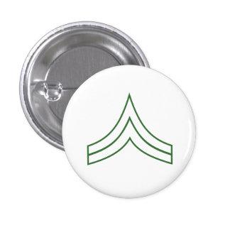 Army Corporal Rank Insignia Button