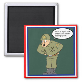 Army Corporal Refrigerator Magnet