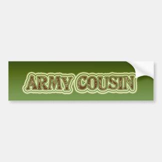 Army Cousin Bumper Sticker