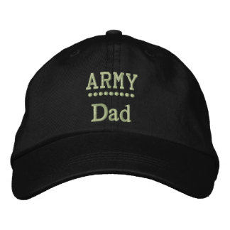 Army Dad Military Family Pride Embroidered Hats