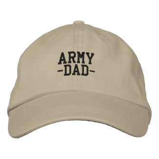 Army Dad  Military Father Embroidered Hat