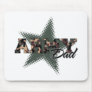 Army Dad Mouse Pads