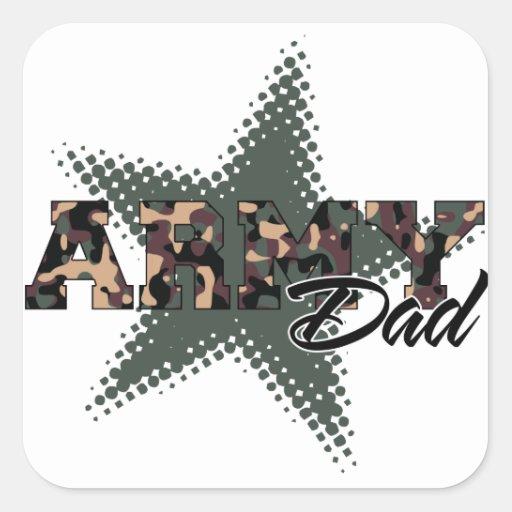 Army Dad Sticker