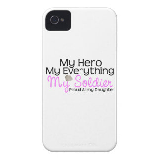Army Daughter My Hero iPhone 4 Case-Mate Cases
