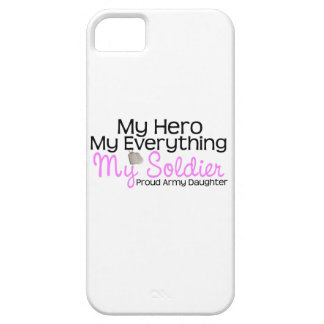 Army Daughter My Hero iPhone 5/5S Case
